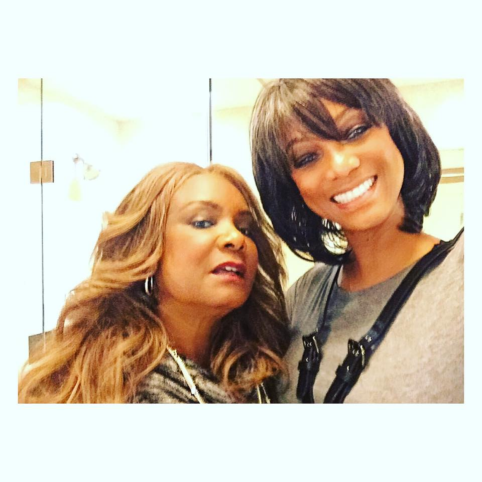 Model, Tyra Banks, Shares Cool Photo With Mum