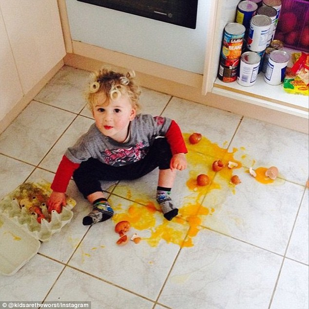 is this funny parents share photos of naughty things kids