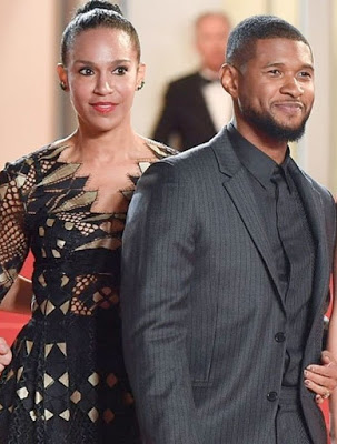 Image result for usher and wife