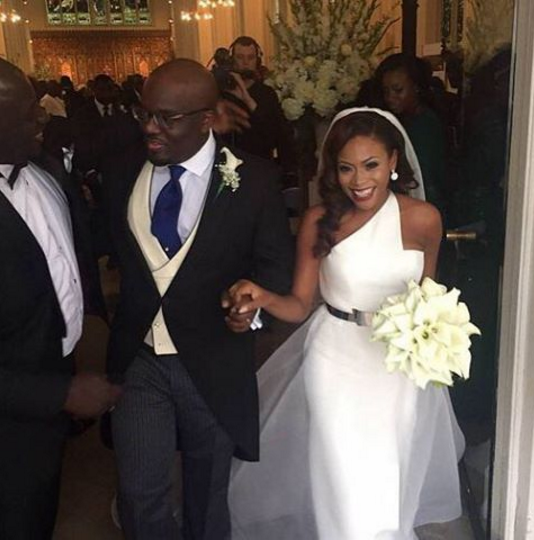 Nigerian Celebrity Wedding Dresses : Most stylish nigerian celebrity brides who looked