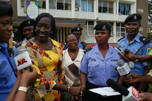 Honoured policewoman