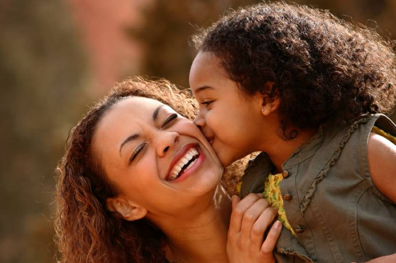 Black mothers and daughters