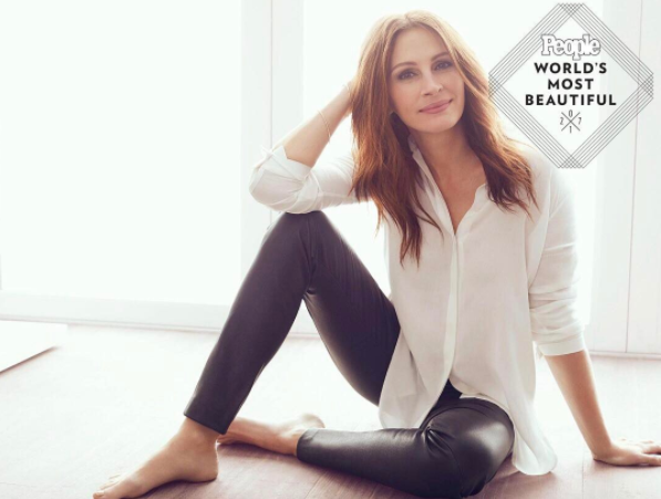 Julia Roberts Is Picked Another Time The Most Beautiful Woman in The World