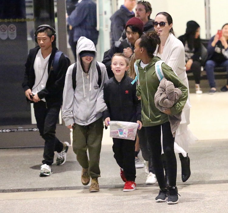 Could Angelina Jolie a... Angelina Jolie Kids Now