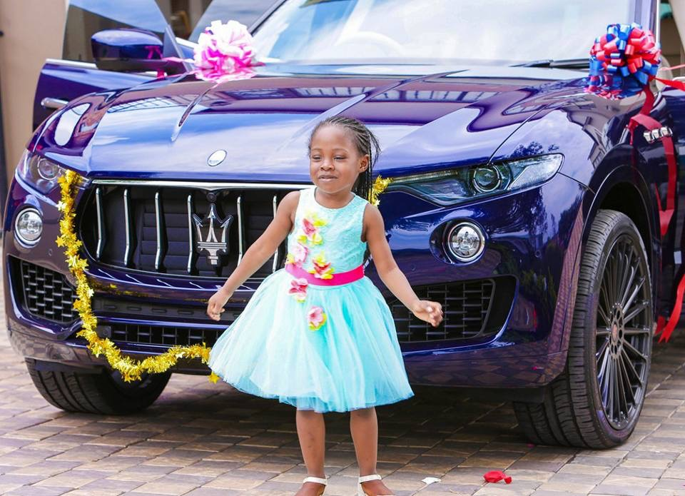 Over The Top Prophet Bushiri S 6 Year Old Daughter Gets A